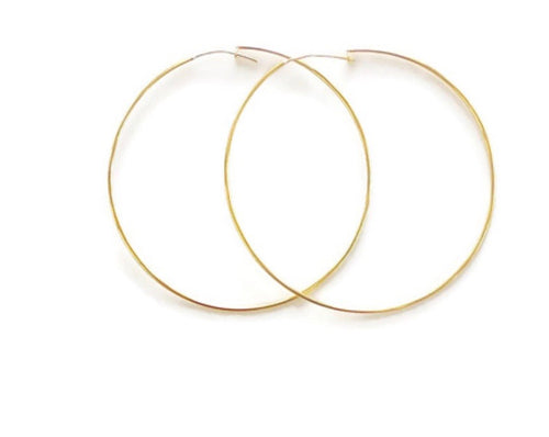 Large Thin Hoop Earring by Betty Carre *Multiple Colors Available*