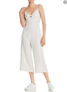 Striped Wide Leg Jumpsuit by Chaser