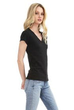 Load image into Gallery viewer, Fitted V-Neck Tee