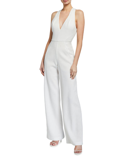 White Jumpsuit by Black Halo