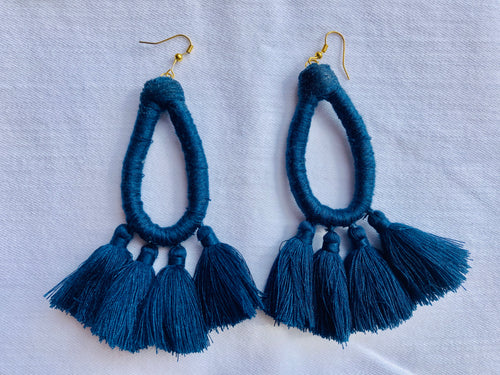 Tassel Earrings *Multiple Colors Available*