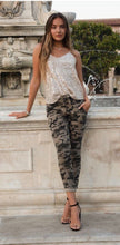 Load image into Gallery viewer, Camo Sparkle Moto Jogger