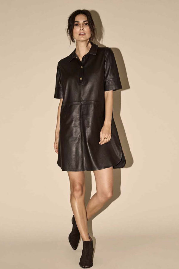 Mos Mosh nahkamekko Ester Leather Dress