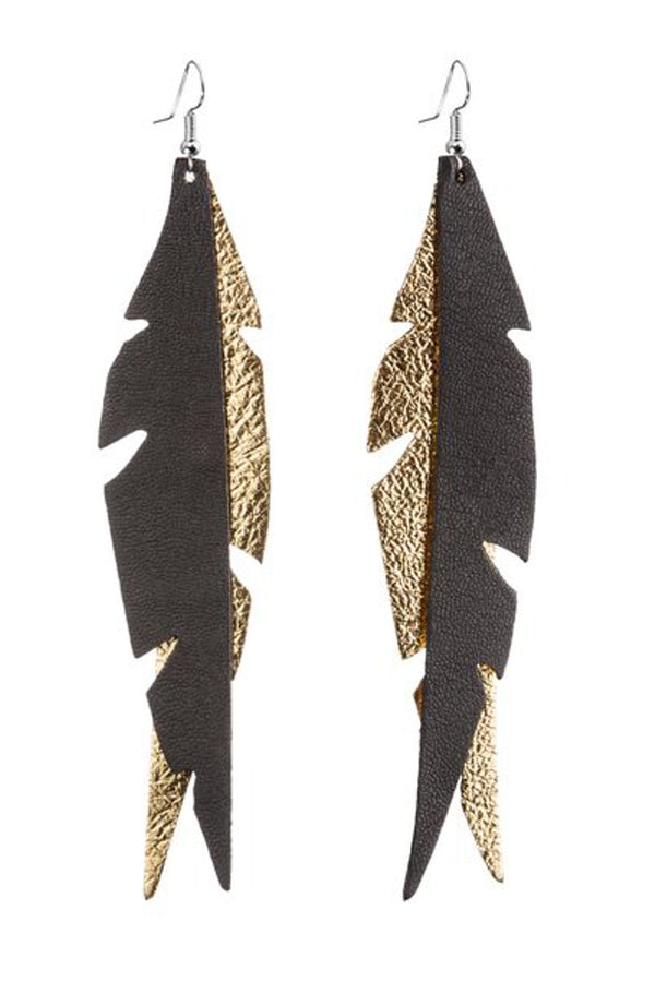 Viaminnet korvakorut Glam Feather Earings