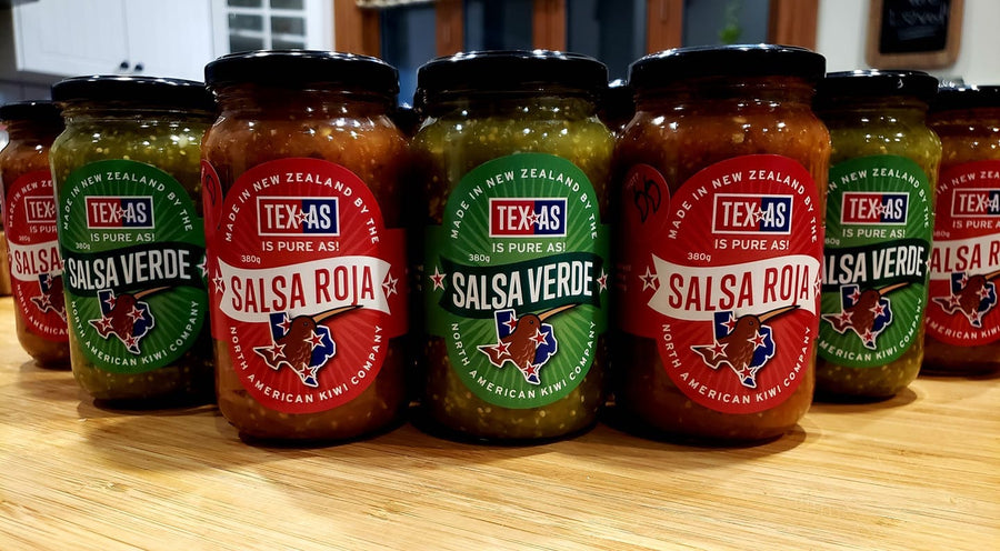 Tex-as Salsa Roja 380gms