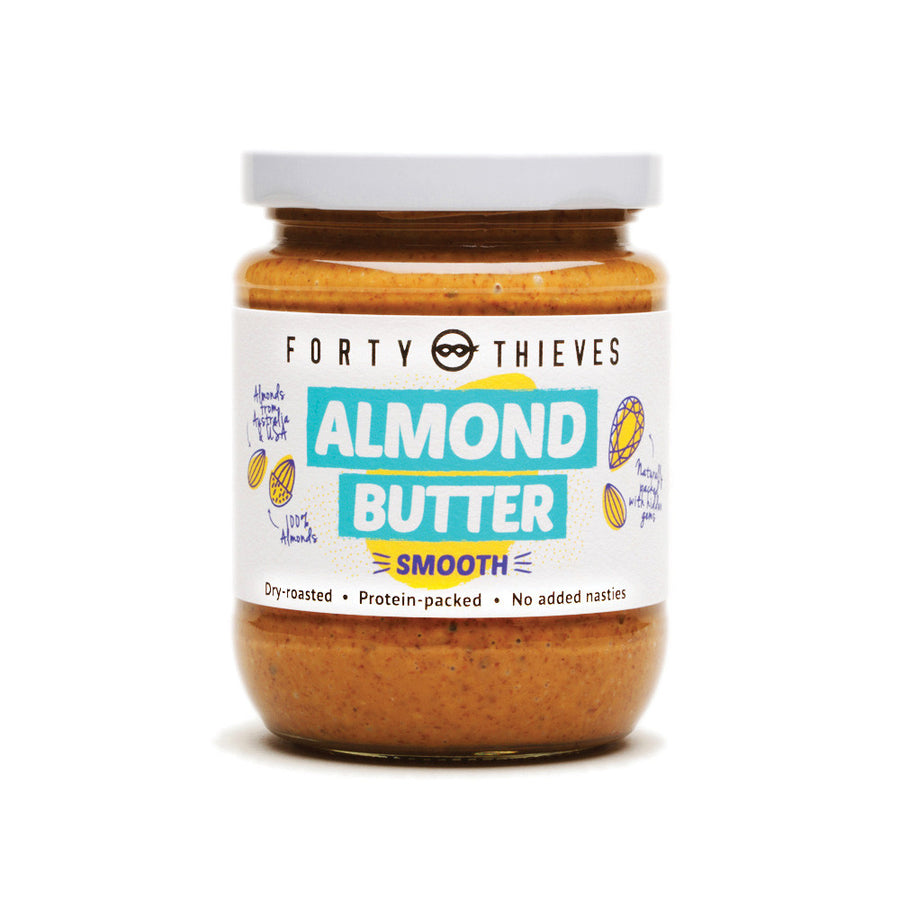Forty thieves smooth almond butter. Fill Good Cambridge