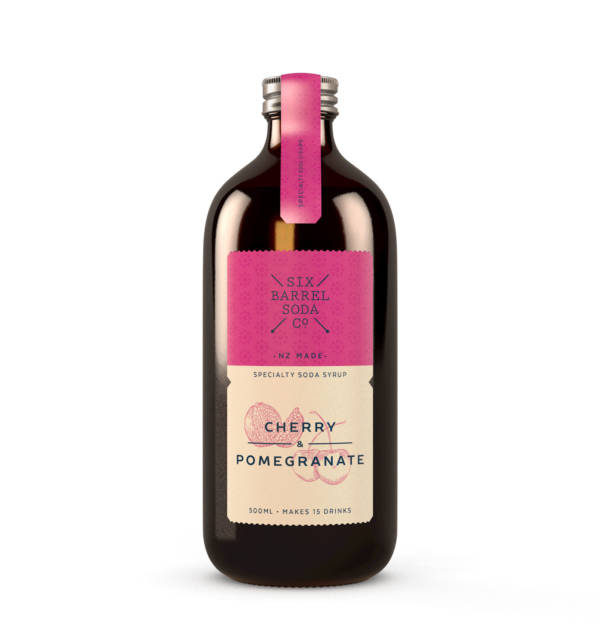 Six Barrel Cherry Pomegranate