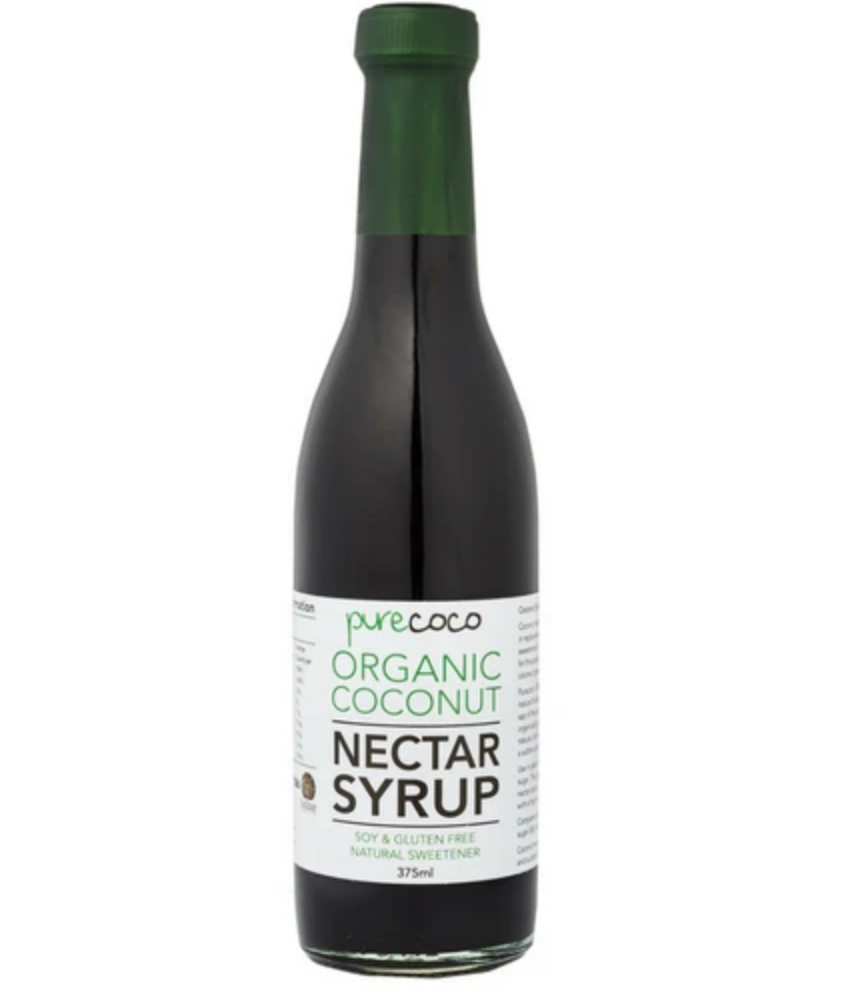 Pure Coco organic coconut nectar syrup. Fill Good Store Cambridge