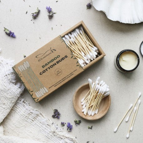 Eco Warehouse Organic Bamboo cotton buds waste free recycled cardboard Fill Good Cambridge
