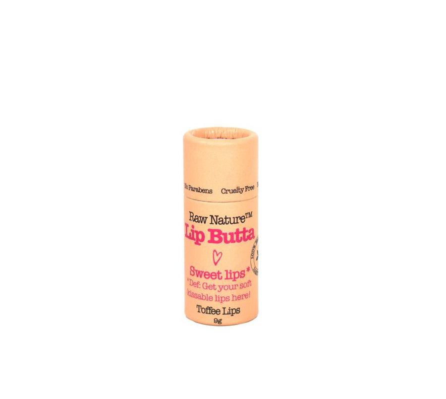 Raw Nature lip butta - Toffee lips flavour. Fill Good Store Cambridge