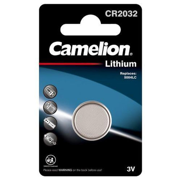 Camelion Cr2032 3V Lith Coin 1Pk Box10