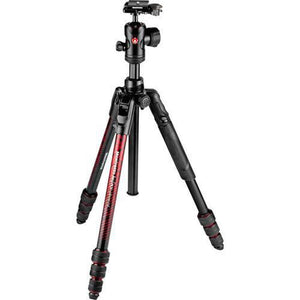 Manfrotto BEFREE ADVANCED ALU TRAVEL TWIST BH RED