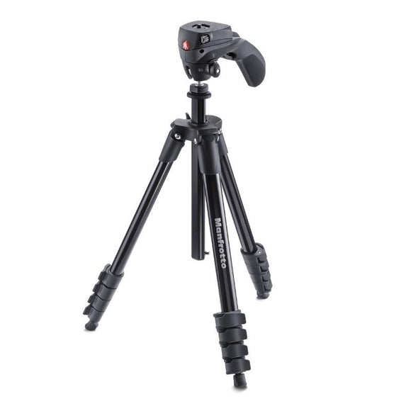 Manfrotto COMPACT ACTION ALU HYBRID HEAD BLACK