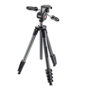 Manfrotto COMPACT ADVANCED ALU QR 3 WAY HEAD BLACK