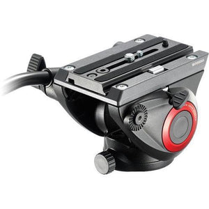 Manfrotto MVH500AH FLUID VIDEO HEAD W/FLAT BASE