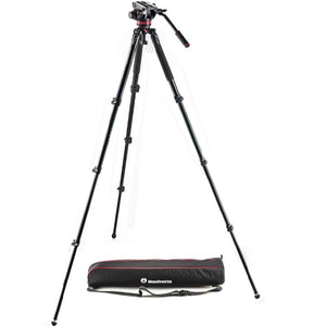 Manfrotto 502 ALU SINGLE LEG VIDEO SYS KIT 80PN