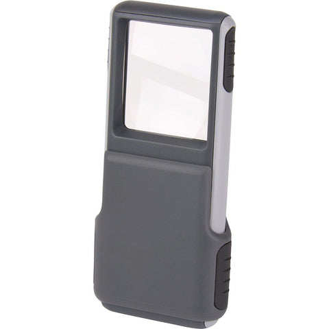 Carson MiniBrite 3x LED Lighted with Protective Sleeve Magnifier