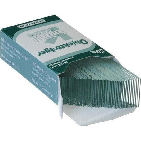 Knittel Glass Microscope Slides 50 pcs