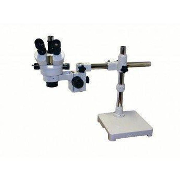 Konus Crystal Plus Trinocular Stereo Microscope with Geared Table Stand