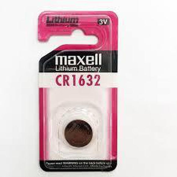 Maxell CR1632 Battery-Battery-Jacobs Photo and Digital