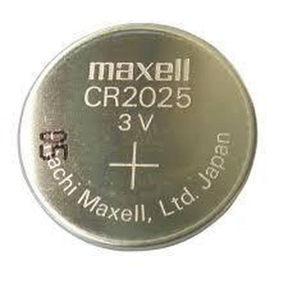 Maxell CR2025 Battery-Battery-Jacobs Photo and Digital