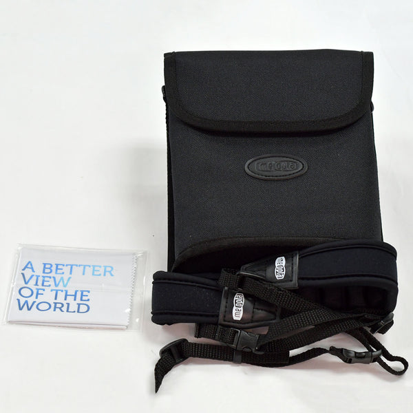 Meopta 10x42 Binocular Bag, Strap and Cloth