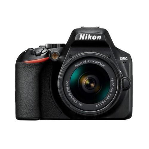 Nikon D3500 Camera w/ Nikon AF-P DX 18-55mm VR Lens-Jacobs Photo and Digital