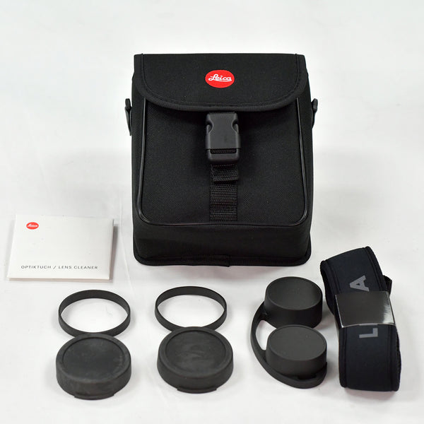 Leica Noctivid/Ultravid 10x42 Bag, Strap, Cloth and Lens Covers