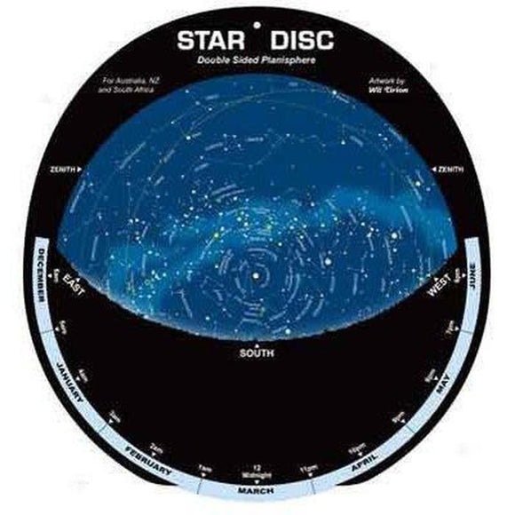Star Disk - Double sided for the Southern Hemisphere-Star Disk-Jacobs Photo and Digital
