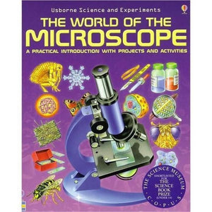 The World of the Microscope Book-Book-Jacobs Photo and Digital
