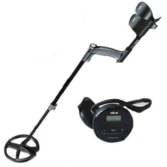 XP DEUS Lite w/ 28cm coil and WS4 Headphones Metal Detector-Jacobs Photo and Digital
