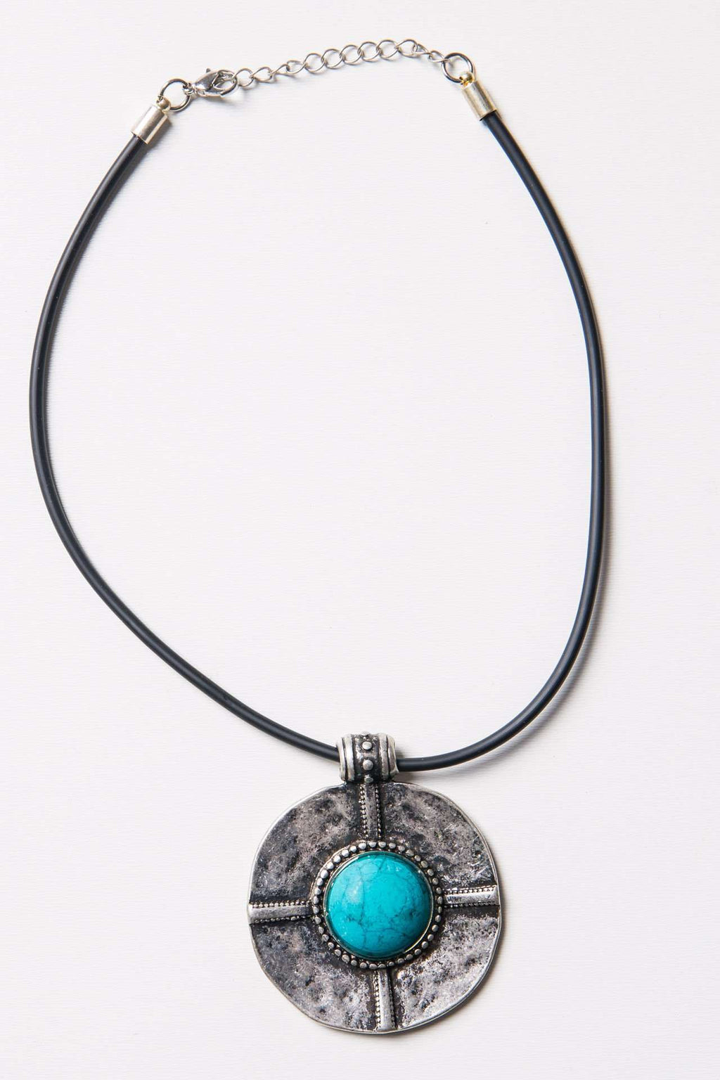 Antiqued Stone Necklace,Accessories