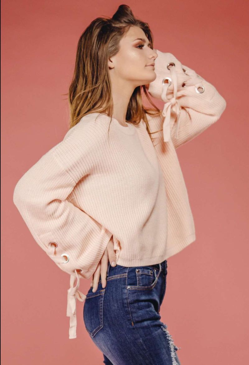 Baby Pink Sweater,Sweater