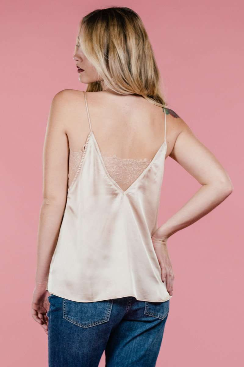 Bailey Beige Cami,Tops