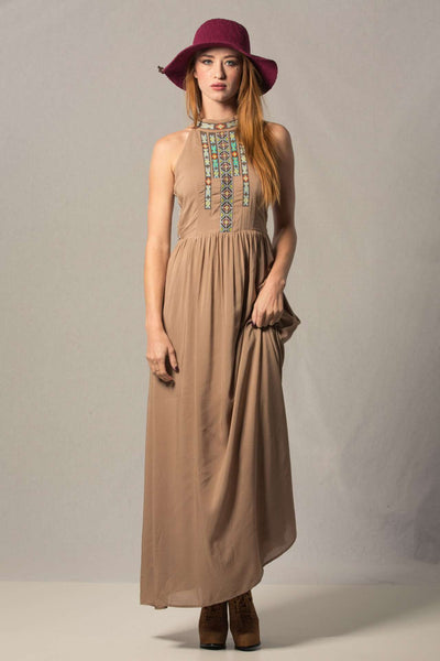 Caged Maxi Dress,Dresses
