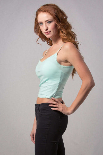 Cropped Cami,Tops