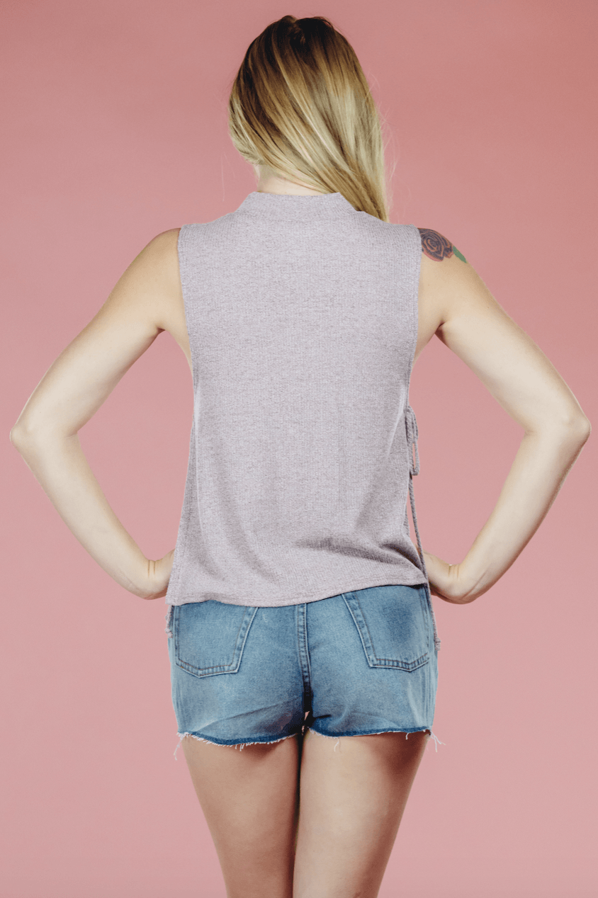 Dusty Mauve Top,Tops