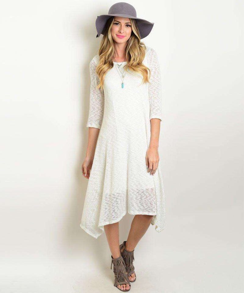 Ivory Dress,Womem - Apparel - Dresses