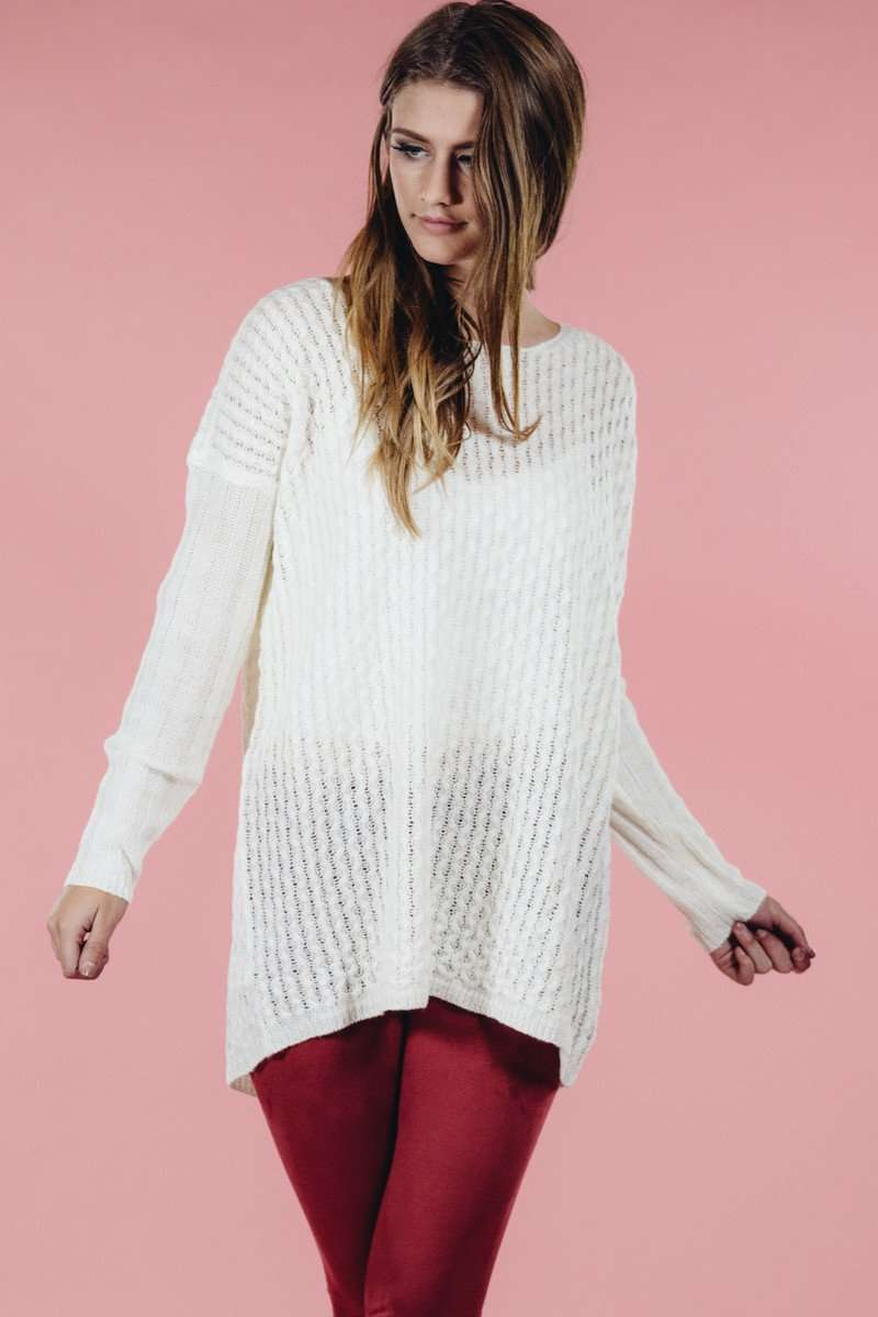 Ivory Sweater,Sweater