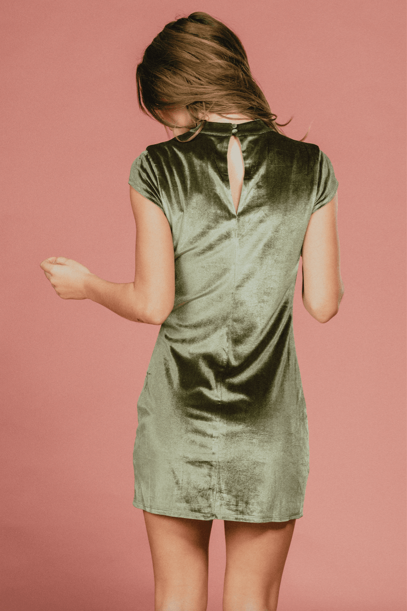 Josephine Velvet Dress,Womem - Apparel - Dresses