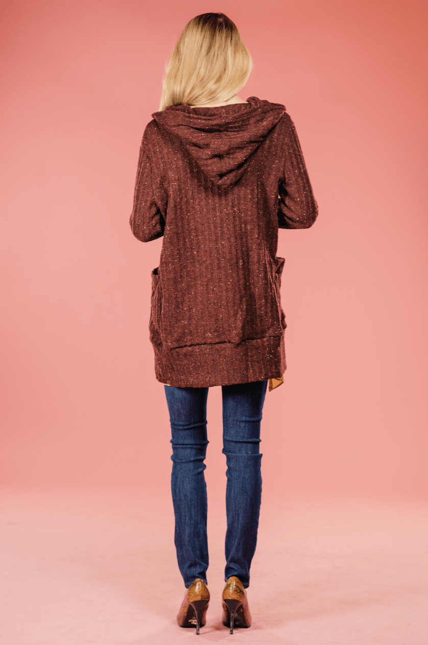 Laura Hooded Cardigan,Outerwear