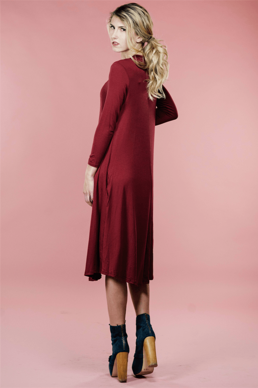 Rebe Red Dress