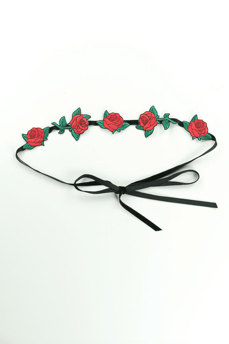 Rose Choker,Accessories