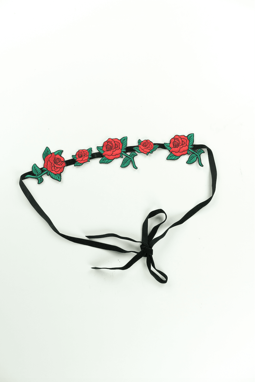 Rose Headband,Accessories