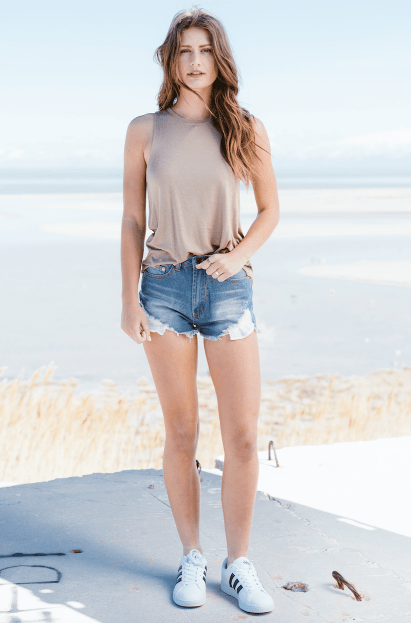 Sand Swing Top,Tops