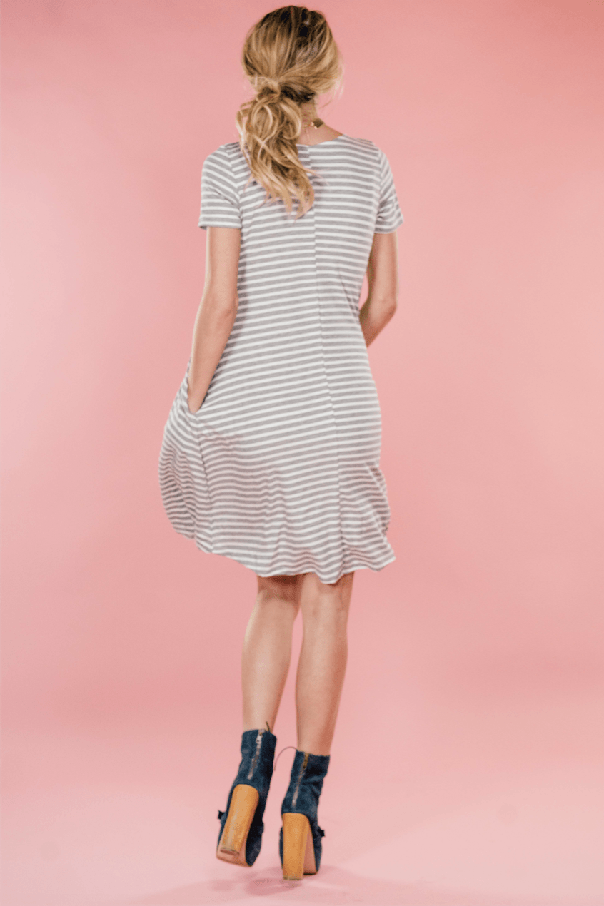 Sasha Stripe Dress,Womem - Apparel - Dresses