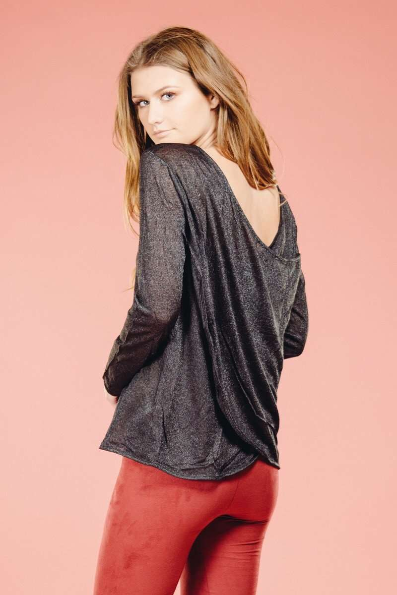 Shimmer Top,Tops