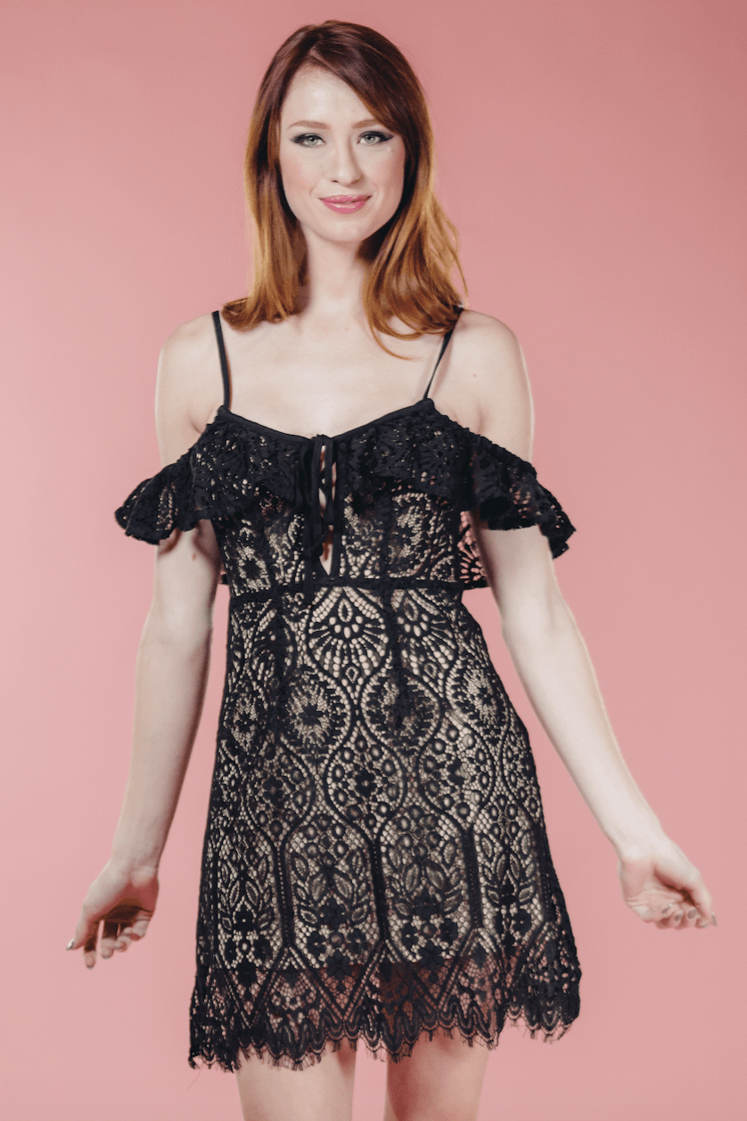 The Olivia Lace Dress