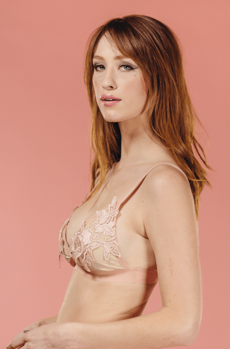The Rose Bralette,Intimates