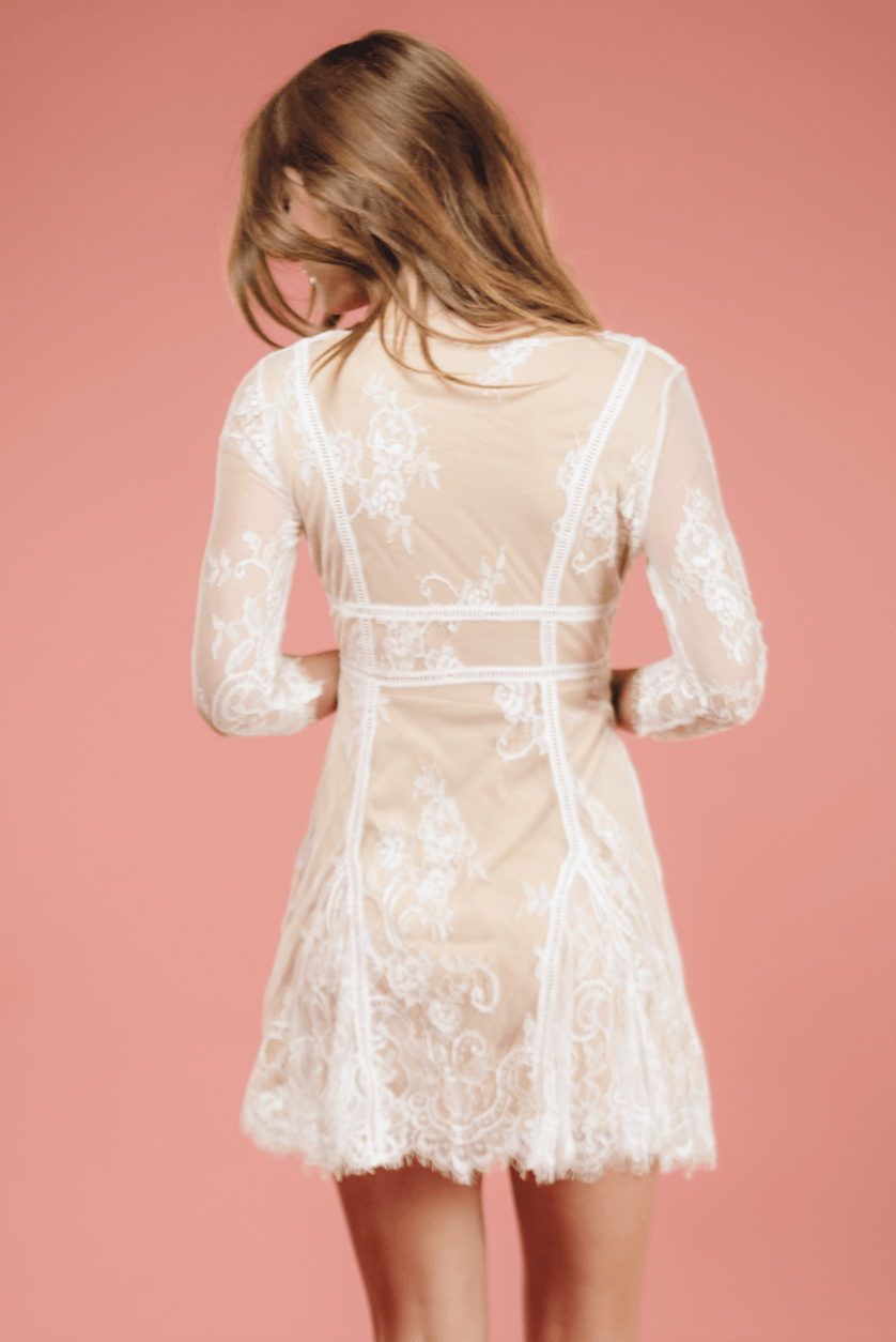 Victoria Lace Mini,Women - Apparel - Dresses